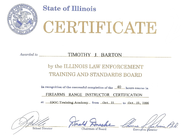 Concealed gun carry in Illinois Iowa Quad Cities firearms training